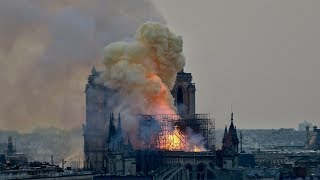 LIVE: Notre Dame Cathedral in Paris on fire - Monday  April 15, 2019