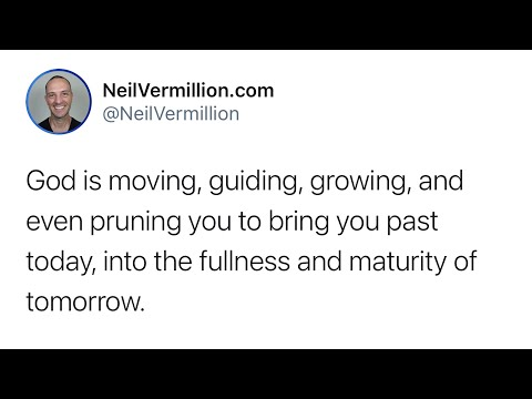 The Fullness And Maturity Of Tomorrow - Daily Prophetic Word