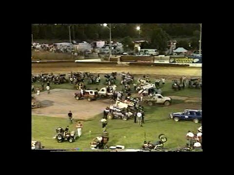 2000/01 Australian Sprintcar Title (Night 2): Archerfield Speedway | 10th February 2001 - dirt track racing video image