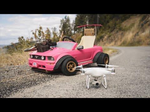 Drone Races The 70MPH Barbie Car 4K - UCivi_f1nniBzEOfKhRoN12Q
