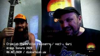 Entrevista a Cristian Pasarella de Guri en Arena Sonora 2020 (06.02.2020)