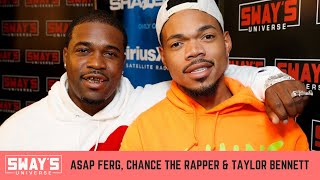 ASAP Ferg and Chance the Rapper Freestyle Back and Forth Live | SWAY'S UNIVERSE