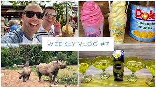Weekly Vlog #7 - Chester Zoo, Dole Whips, Gardening and Disney Friends - AD