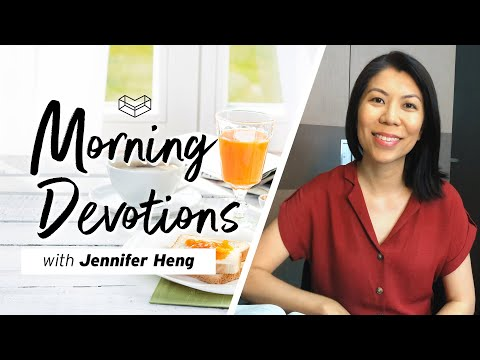 Anxiety to Peace  Devotion  Jennifer Heng  Cornerstone Community Church  CSCC Online