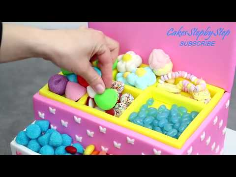 PRINCESS Candy Box Cake | Sweet Birthday Cakes Ideas | DIY Candy Party Decoration - UCjA7GKp_yxbtw896DCpLHmQ