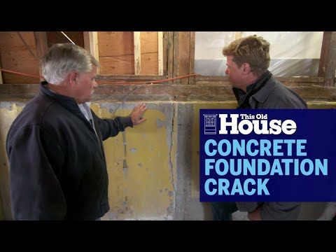How To Fix a Concrete Foundation Crack | This Old House - UCUtWNBWbFL9We-cdXkiAuJA