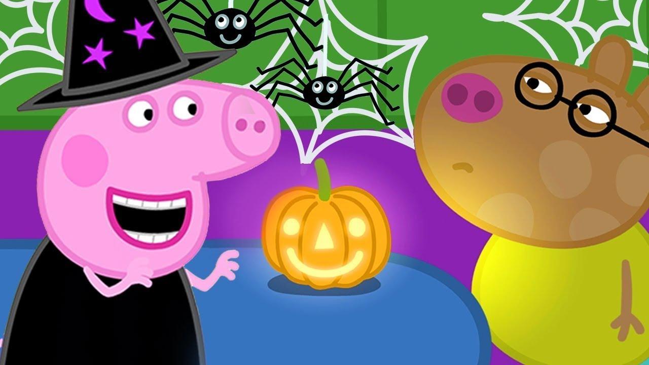 Peppa Pig Official Channel | Peppa Pig's Halloween Pumpkin Rescue