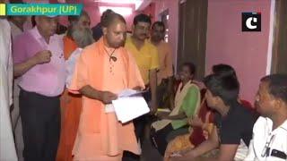 CM Yogi Adityanath holds Janta Darbar, addresses grievances of people