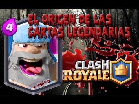 El Origen De Las Cartas Legendarias Clash Royale Vidvui