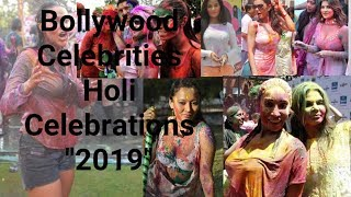 Bollywood Celebrities Holi Celebrations