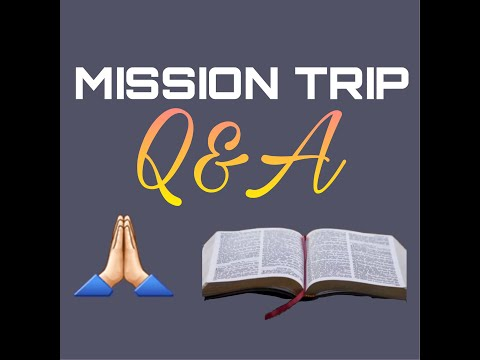 MISSION TRIP FEH PAWL Q&A  CHIN YOUNG GENERATION