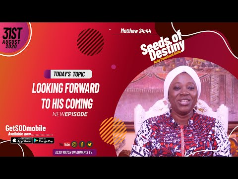 Dr Becky Paul-Enenche - SEEDS OF DESTINY - MONDAY AUGUST 31, 2020