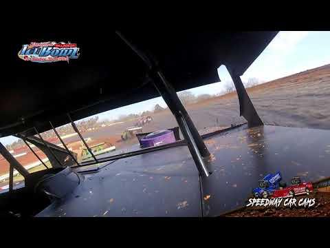 #529 Robert George - Open Wheel - Ice Bowl 2021 - Talladega Short Track - In-Car Camera - dirt track racing video image