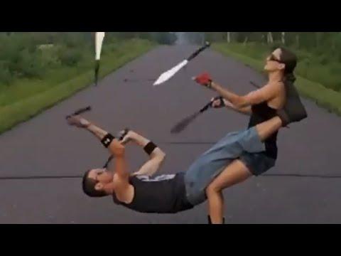 Blade Tricks, Basketball Skills, Circus Arts & More | Awesome Archive - UCIJ0lLcABPdYGp7pRMGccAQ