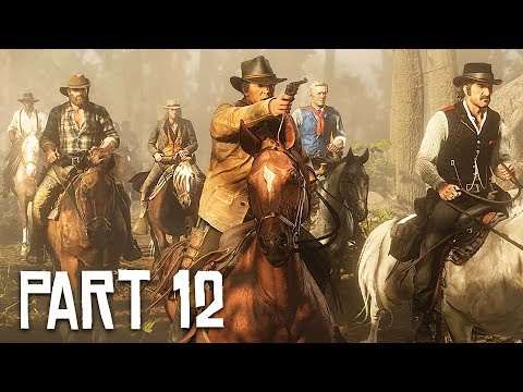 Red Dead Redemption 2 Gameplay Walkthrough, Part 12!! (RDR 2 PS4 Gameplay) - UC2wKfjlioOCLP4xQMOWNcgg