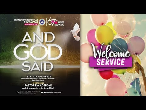DAY 2 RCCG HOLY GHOST CONVENTION 2019 - WELCOME SERVICE