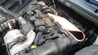 Cambio filtro aria PEUGEOT 508