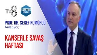Prof. Dr. Şeref Kömürcü – Kanserle Savaş Haftası | TV8 – Günaydın Doktor