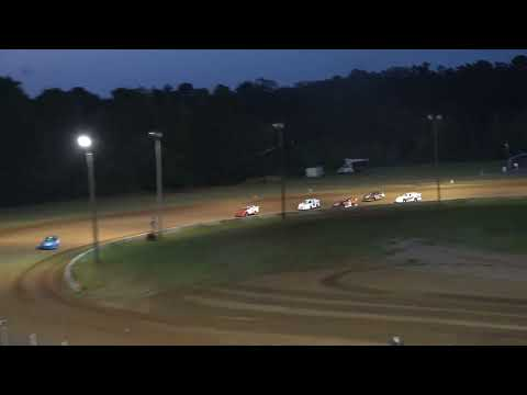 08/29/21 Mini Late Model Feature Race - Oglethorpe Speedway Park - dirt track racing video image