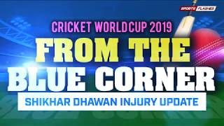 Shikhar Dhawan Injury Update World Cup 2019 | Sports Flashes