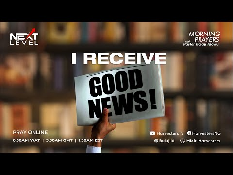 Receive Good News!!  (5th April 2021)