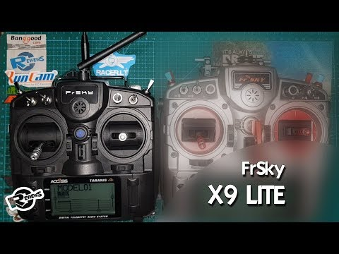 Taranis x9Lite first look, feel, for R9 Lite - but can be used with Crossfire - UCv2D074JIyQEXdjK17SmREQ