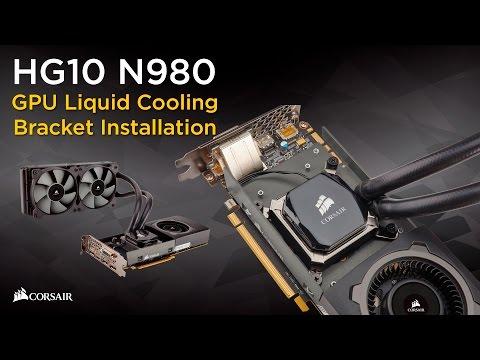Corsair Hydro Series HG10 GPU Liquid Cooling Bracket -- A1