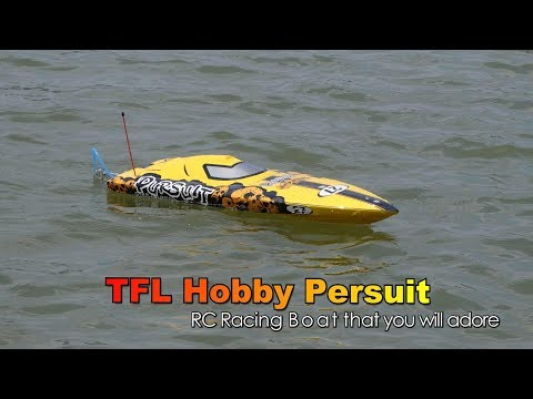 TFL Hobby Persuit 1106 RC Speed Boat River Drive - UCsFctXdFnbeoKpLefdEloEQ