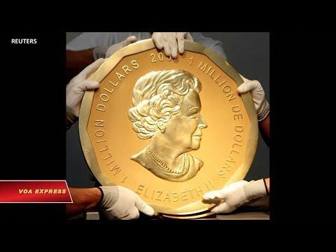 Đức xét xử 4 nghi can ăn cắp đồng tiền vàng khổng lồ (VOA)