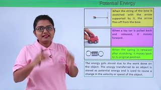 Class 9th Physics - Work and Energy - Potential Energy