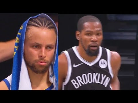 Stephen Curry Wanna Cry After Kevin Durant & Kyrie Irving Destroy Warriors! Warriors vs Nets