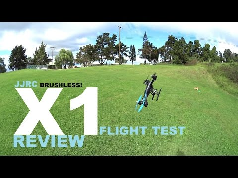 JJRC X1 Brushless Sport Quadcopter Drone Review - Part 2 - [Flight/CRASH! Test] - UCVQWy-DTLpRqnuA17WZkjRQ