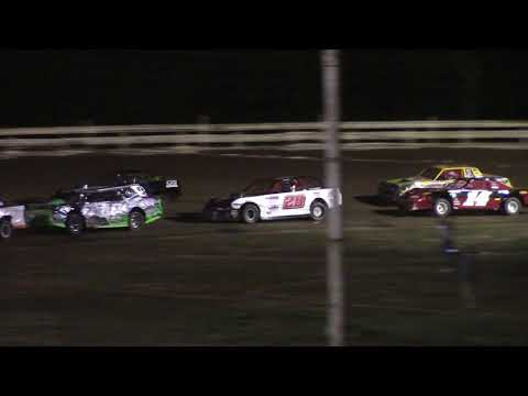 Hummingbird Speedway (7-10-21): Sunny 106.5 FM Pure Stock Feature - dirt track racing video image