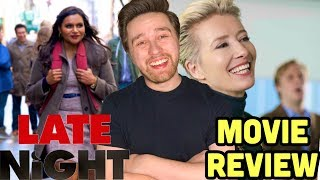 Late Night (2019) - Movie Review | (Mindy Kaling and Emma Thompson movie)