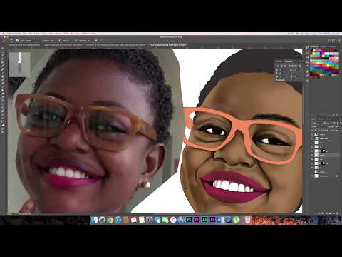 Painting with Photoshop (Time Lapse Painting)