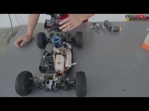 Iron Track FireStone Nitro Gas Buggy Startup - UC4Q-WAotUTF3ZXahLZ0MGZw