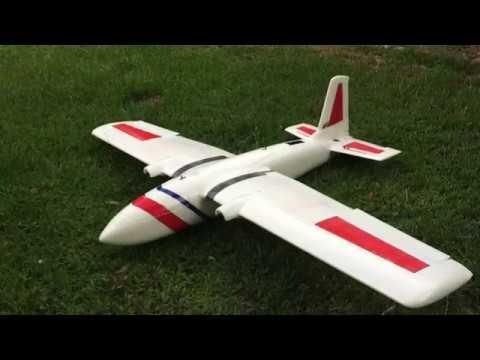 SkyHawk V2 Twin Rotor FPV Plane Build Video | FpvRacer lt