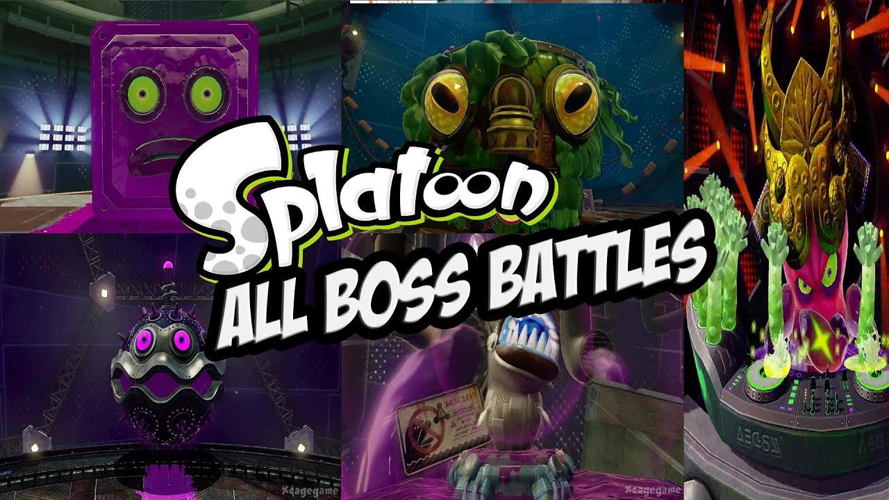 splatoon all boss battles fpvracer lt