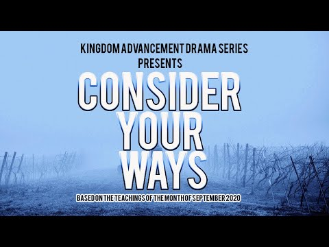 Consider your Ways