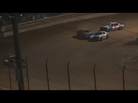 Stock V8 at Lavonia Speedway April 23rd 2021 - dirt track racing video image