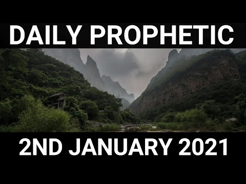 Daily Prophetic 2 January 2021 7 of 7
