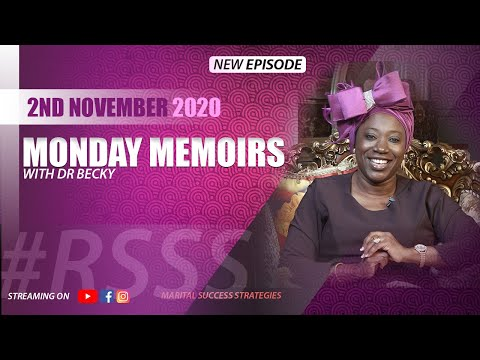 MONDAY MEMOIRS WITH DR BECKY 02.11.2020