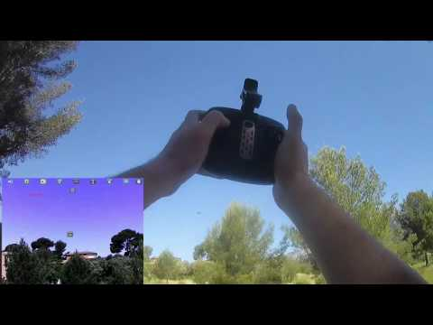 Eachine E52 TX new demo flight (Courtesy Banggood) - UC_aqLQ_BufNm_0cAIU8hzVg