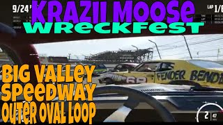 Wreckfest Big Valley Speedway Outer Oval Loop