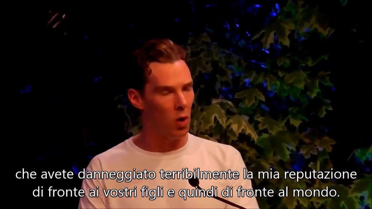 Benedict Cumberbatch legge una lettera di Kurt Vonnegut (SUB ITA)