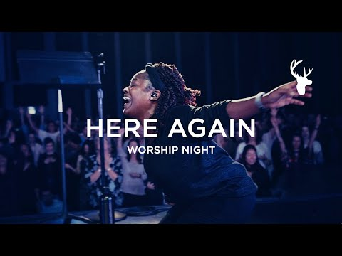 Rheva Henry - Here Again (Spontaneous - I Want More)  Worship Night