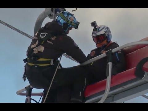 Thực tập cứu hộ trong khu trượt tuyết (VOA)