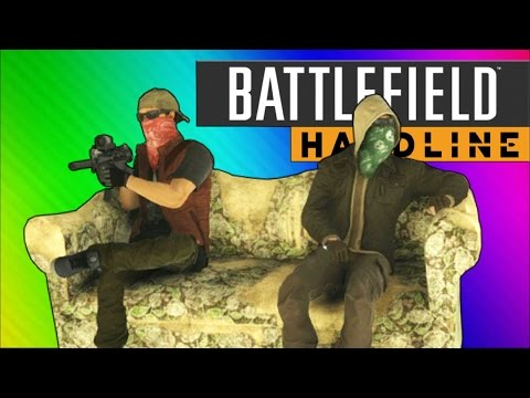 Battlefield Hardline Funny Moments - Couch Easter Egg, C4 Launches, Pictionary! - UCKqH_9mk1waLgBiL2vT5b9g