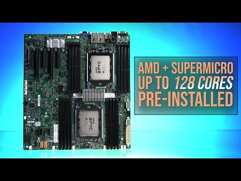 AMD EPYC Rome and Supermicro: Up to 128 cores, pre-installed - UCJ1rSlahM7TYWGxEscL0g7Q