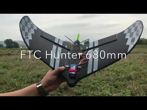FTC hunter 680mm - unboxing, binding, esc & fc calibration - UCpcIJzlLy9xRbwOgQwd6a6w